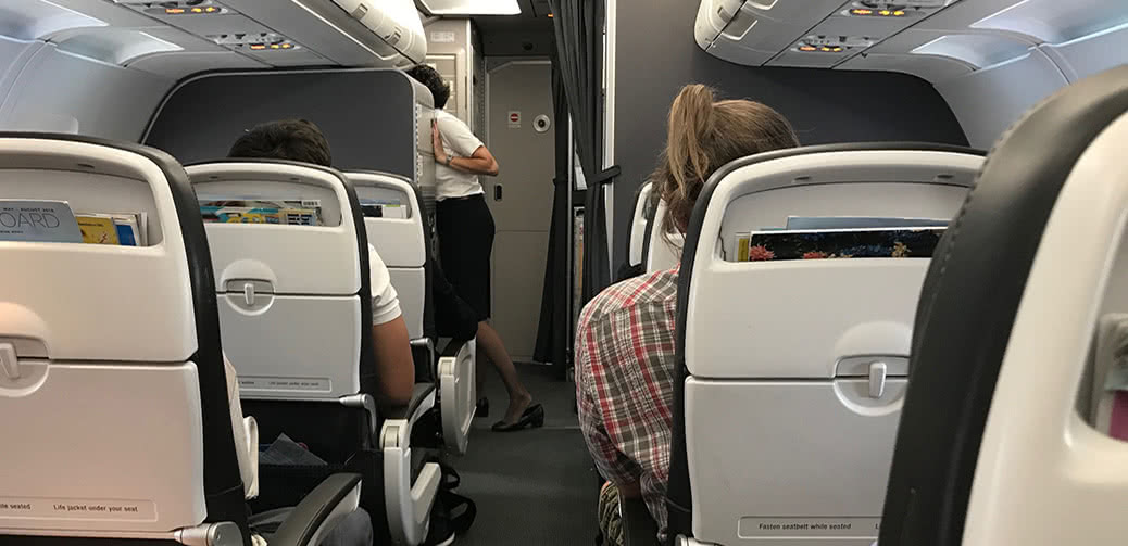 Suspended! British Airways Stewardess Who Videoed, Smelled & Sold Used Tights