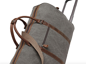 Your Choice Of Kovered Handmade Waxed Canvas & Leather Holdall