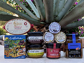 Chef Olé St. Miguel Market Food Gift Basket From Spain