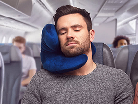 Your Choice Of J-Pillow: A Unique & Supportive Travel Pillow (UK ONLY)