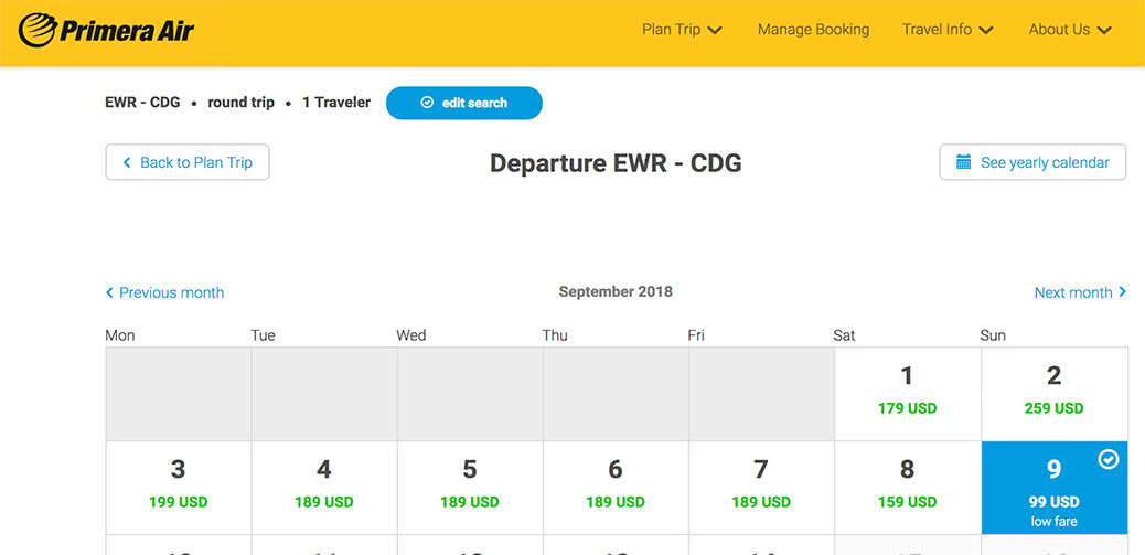 Book Quick! Fly To Paris For $99