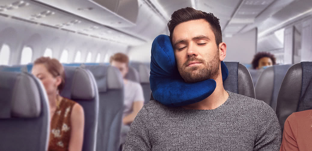 J-Pillow: The New, Unique & Supportive Travel Pillow