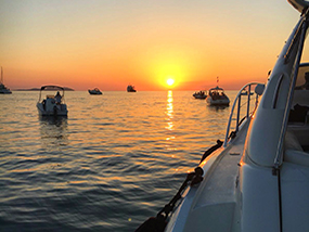 Ibiza Sunset Cruise For Up To 11 Ppl On A Sunseeker Yacht