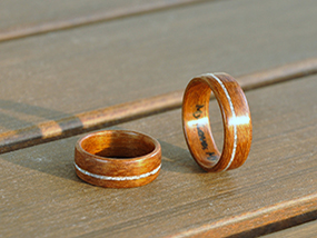 Your Choice Of Unique Wooden Ring From The Wooden Ring Store