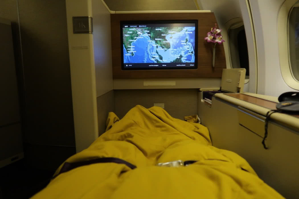 Flight Review: Thai Airways Boeing 747 First Class Bangkok to Munich