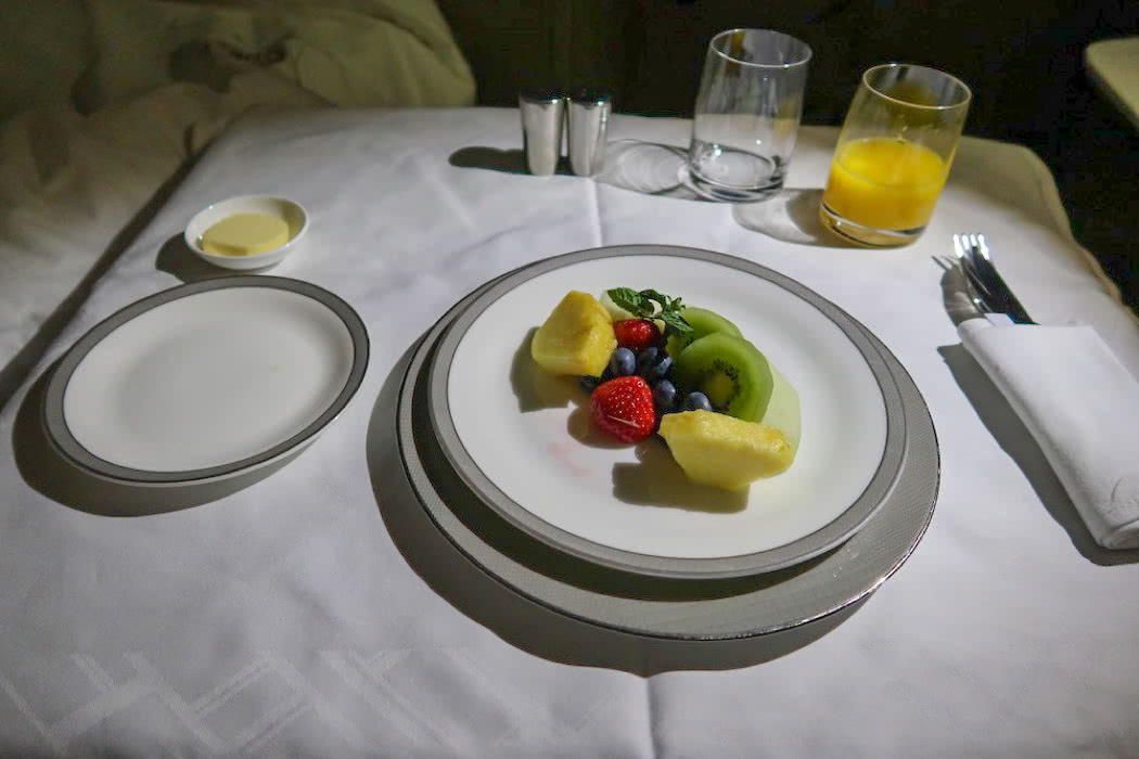 How Good Is First Class Airline Food? Tips To Get It For Free