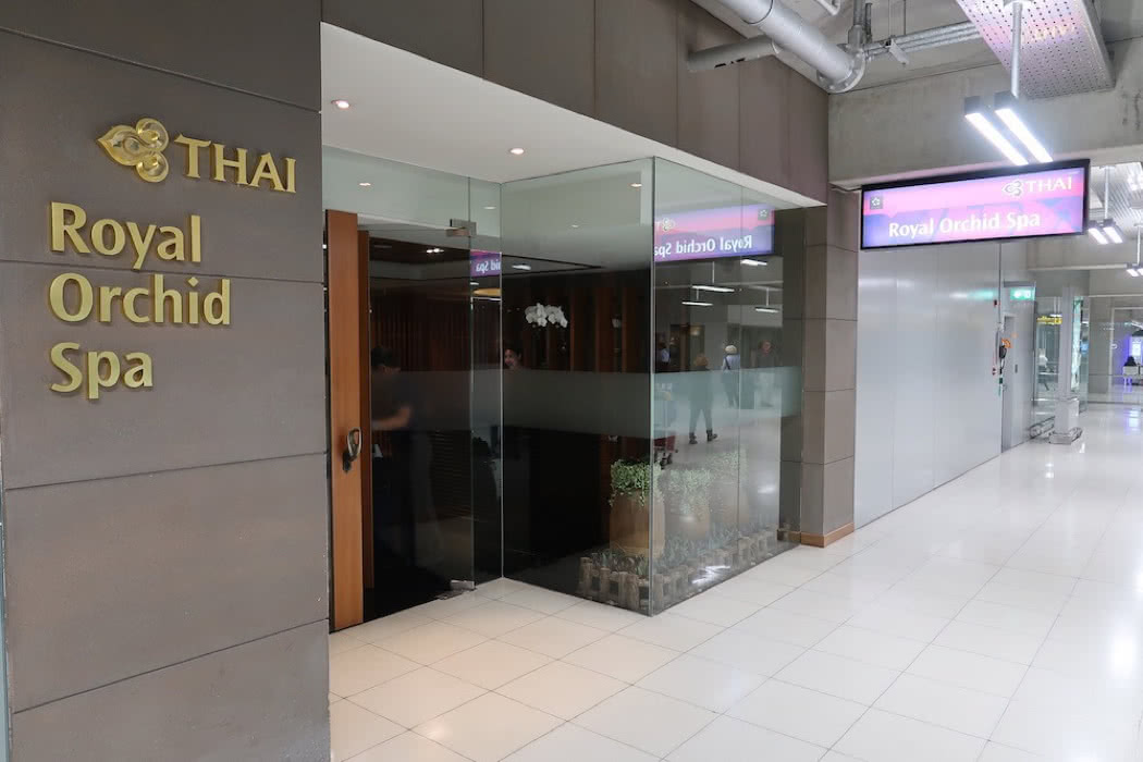 Review: Thai Airways First Class Lounge At Bangkok Airport