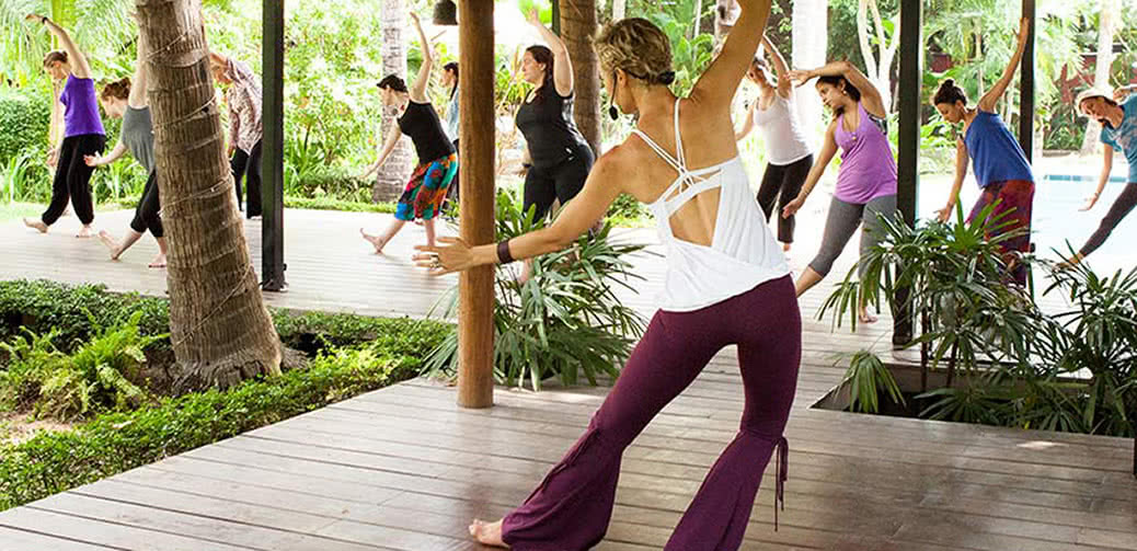 Yoga Teacher Training at Tavoos Garden, Siem Reap, Cambodia