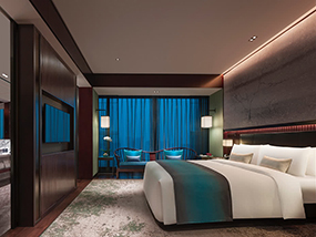 2 Nights At The Striking, Luxury NUO Hotel Beijing In China
