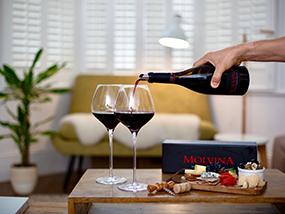 Case Of Luxury Molvina Fine Red Wine (6 Bottles) UK & Italy Only