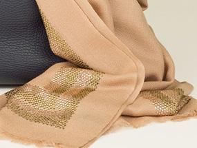 Your Choice Of Stunning Cashmere & Swarovski Wrap