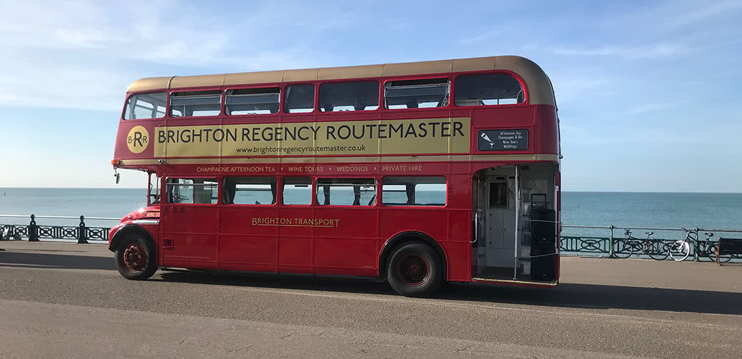 Brighton Regency Routemaster: Unique Teas for Two