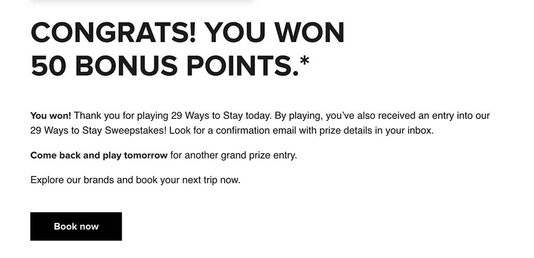 Flipboard I Won 50 Marriott Rewards Points How You Can Win Even More