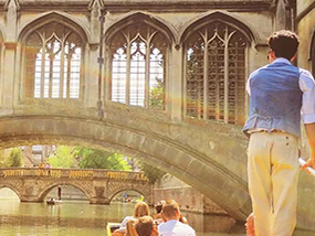 Romantic Champagne Punting Experience For 2 In Cambridge, UK
