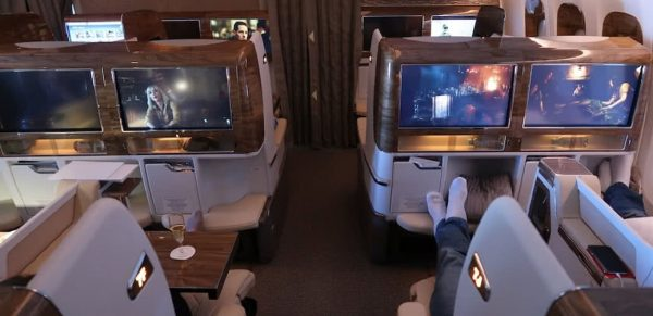 Emirates Boeing 777 Business Class Flight Reviews