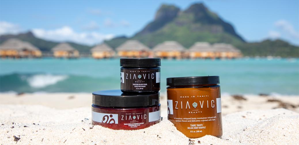 Ziavic Beauty: Skincare Made in Tahiti
