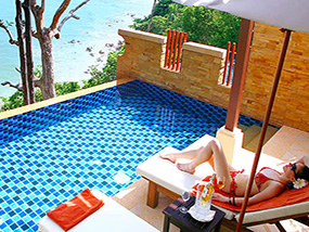 4 Nights In An Ocean View Pool Villa In Koh Lanta, Thailand