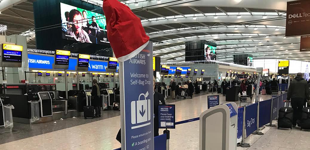 Christmas Flight: British Airways London Heathrow To Nice In Club Europe