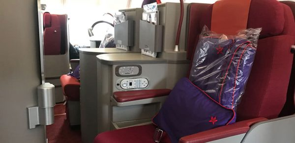 Flight Review: Hong Kong Airlines, Business Class A330 Hong Kong to Shanghai