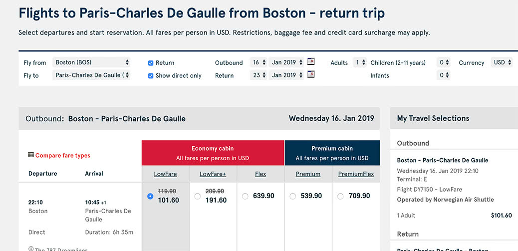 Fly To Europe For $101.60 With XMASOFFER18 Promo Code!