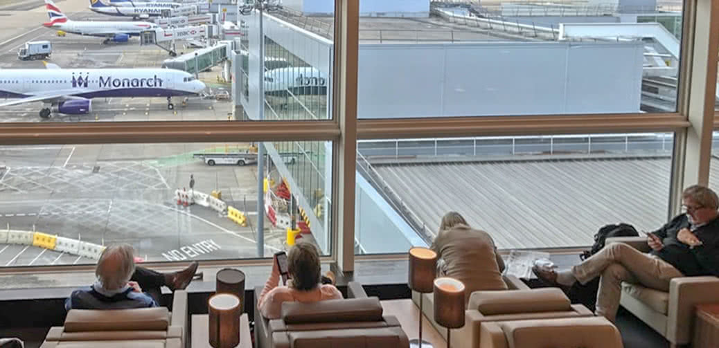 How To Get Into Gatwick South Airport Lounges For Free