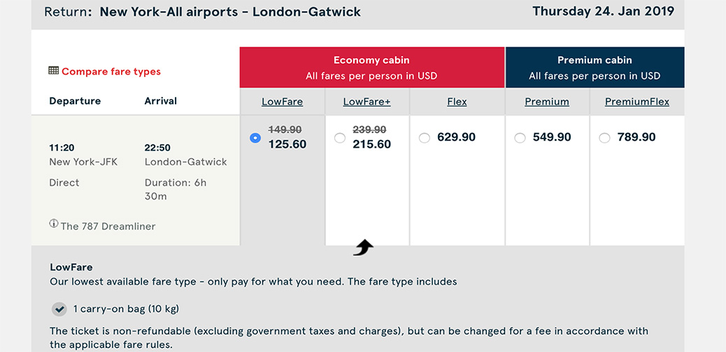 Book Quick With XMAS Promo Code! Fly To London For 125USD With Norwegian
