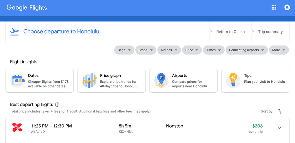 Book Quick! 3 Cities To Hawaii From $206