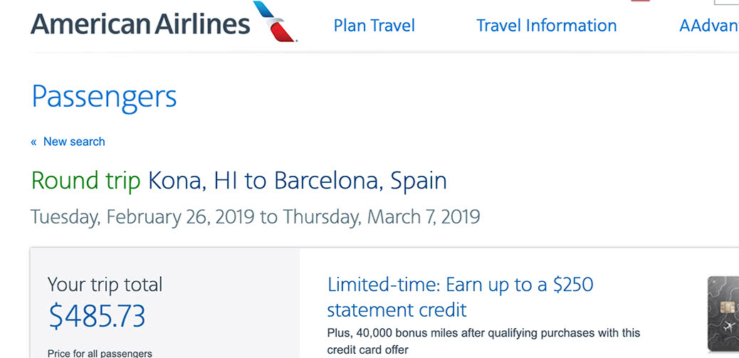 Deal Alert: American Airlines Hawaii To Europe RT $486