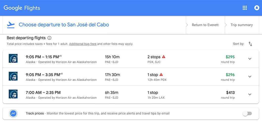 Deal Alert! USA To Cabo San Lucas RT $296