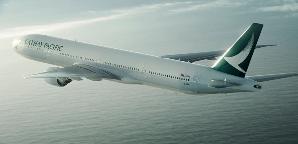 Dramatic Mid-Air Impact: Bird Crashes Into Cathay Pacific Plane!