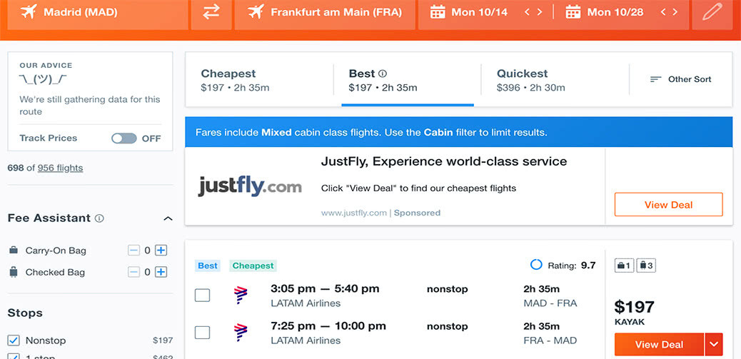 Try Lie Flat Business Class for $197