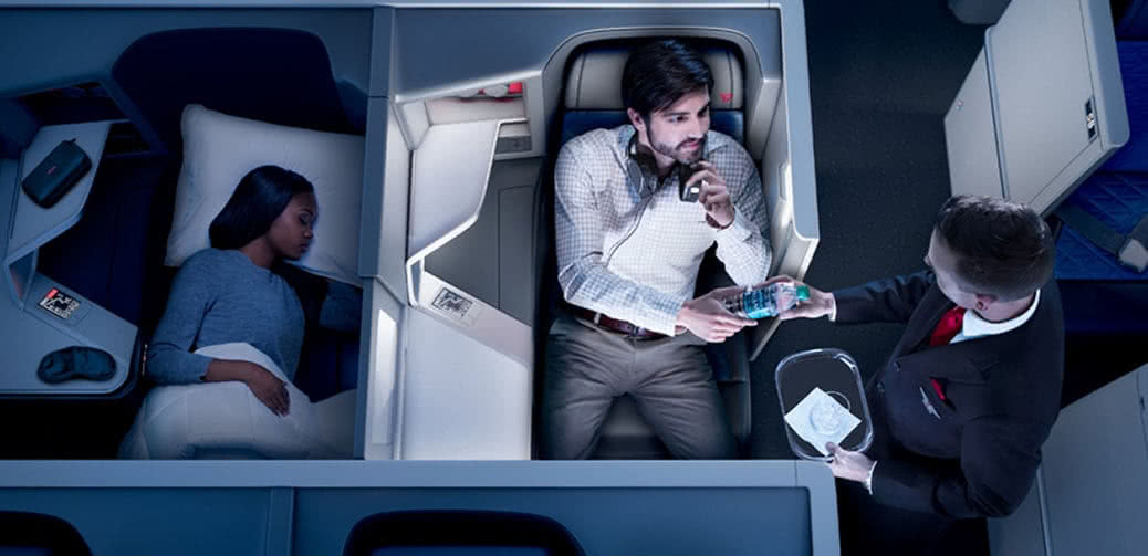 Want To Fly On Delta's Newly Retrofitted Boeing 777s? Here's How!