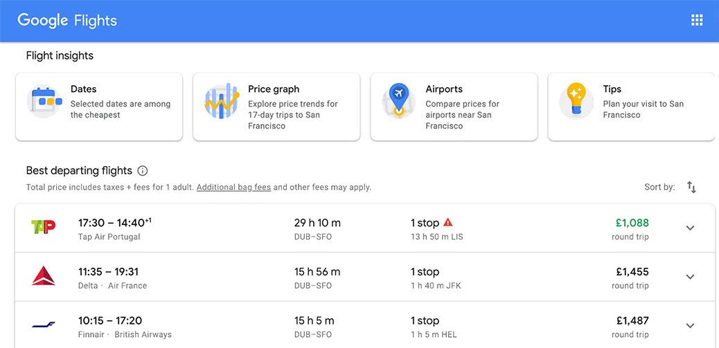 Bargain! Business Class To San Francisco: 1088GBP Return