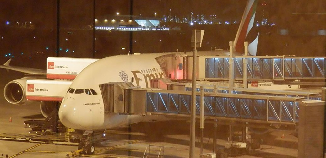 Emergency! Emirates A380 Runs Low On Fuel In High Winds