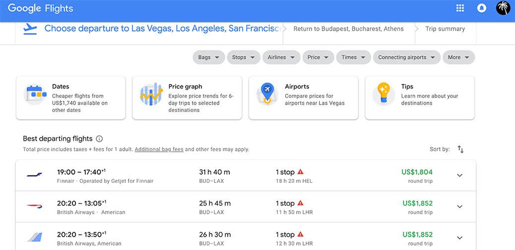 Half Price! British Airways Business Class Europe To American West Coast