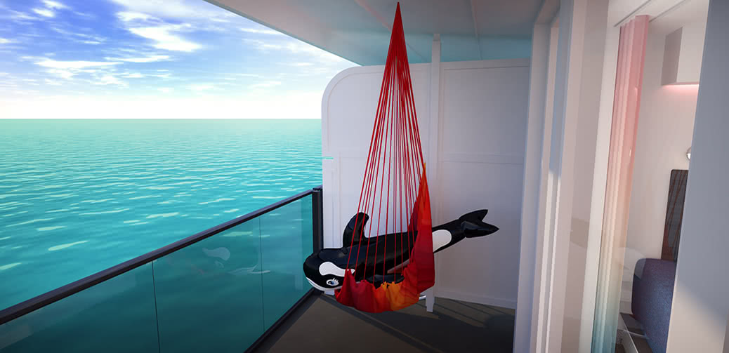 Amazing Pictures Aboard Richard Branson's Virgin Voyages Cruise Ship!