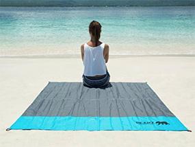BEARZ Outdoor Quick Dry Microfiber Towel & Beach Mat Set (US Only)