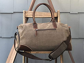 A Luxury Sona Weekender Canvas Bag (USA only)