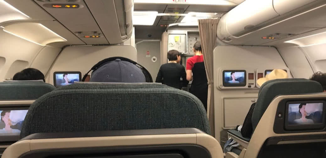 Cathay Dragon Flight Reviews