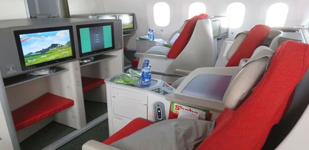 Ethiopian Airlines B737 & B787 Business Class Flight Reviews
