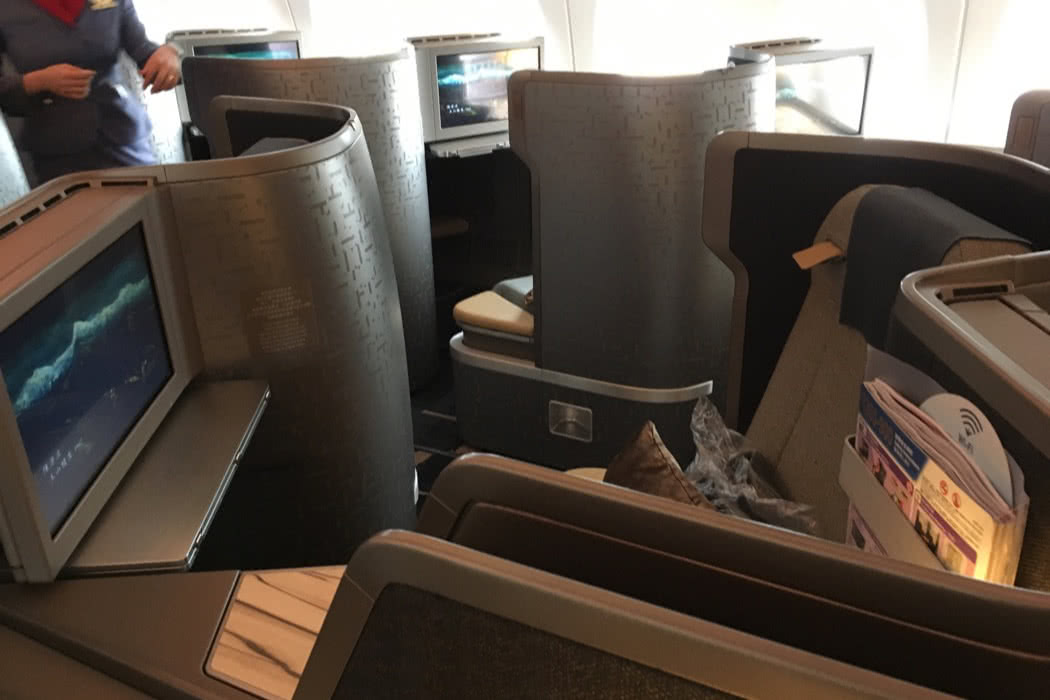 Flight Review: China Airlines A350 Business Class