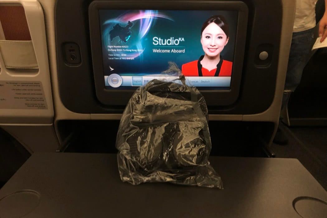 Review of Cathay Dragon Business Class A321, Danang to Hong Kong