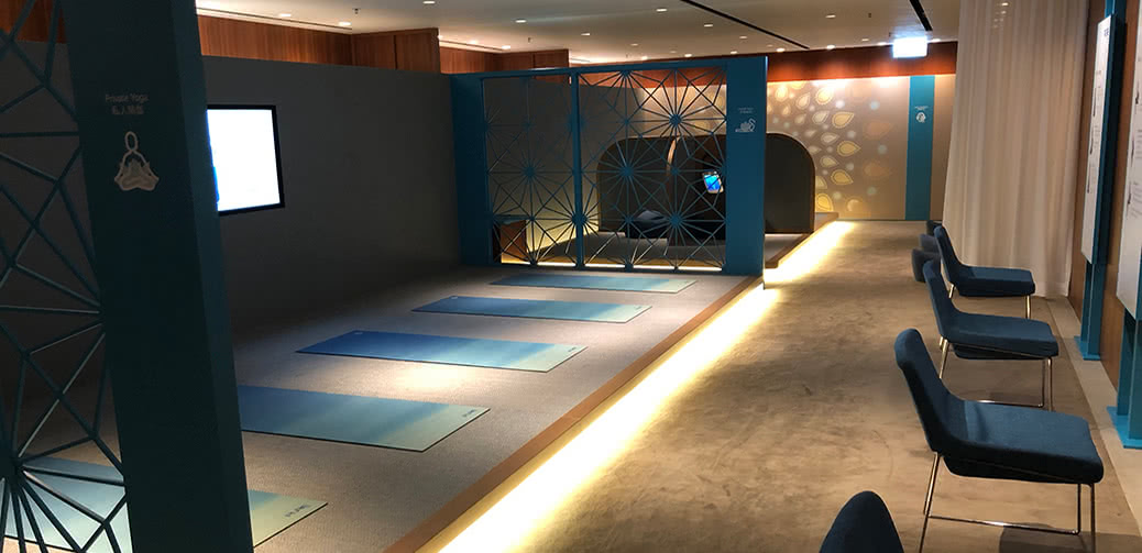 Review: The Sanctuary By Pure Yoga In The Pier Business Class Lounge HKG Airport