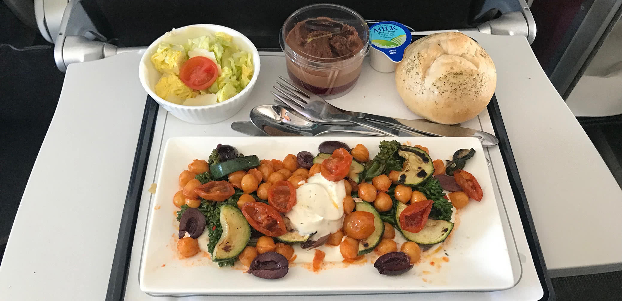 Only One North American Airline Offers a Delicious Domestic Inflight Meal