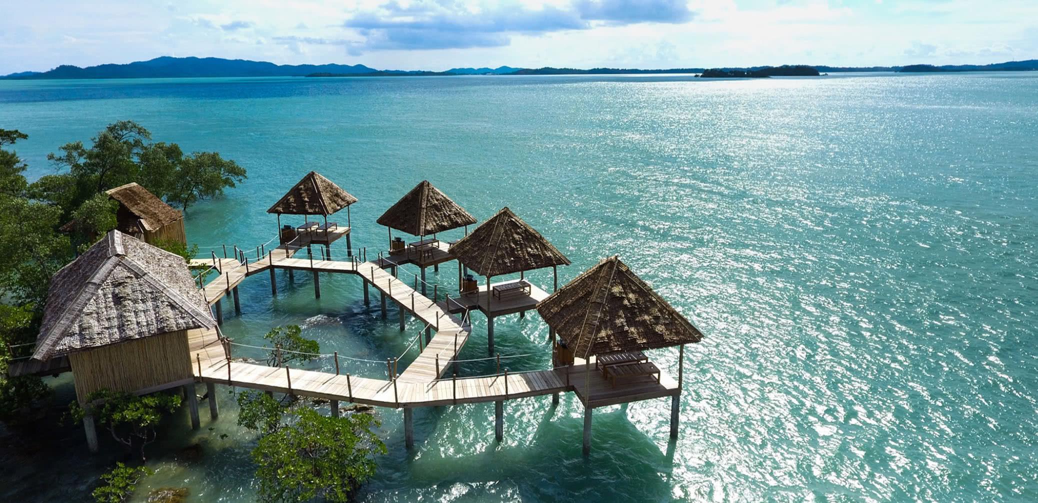 Hotel Review: Telunas Private Island Near Singapore