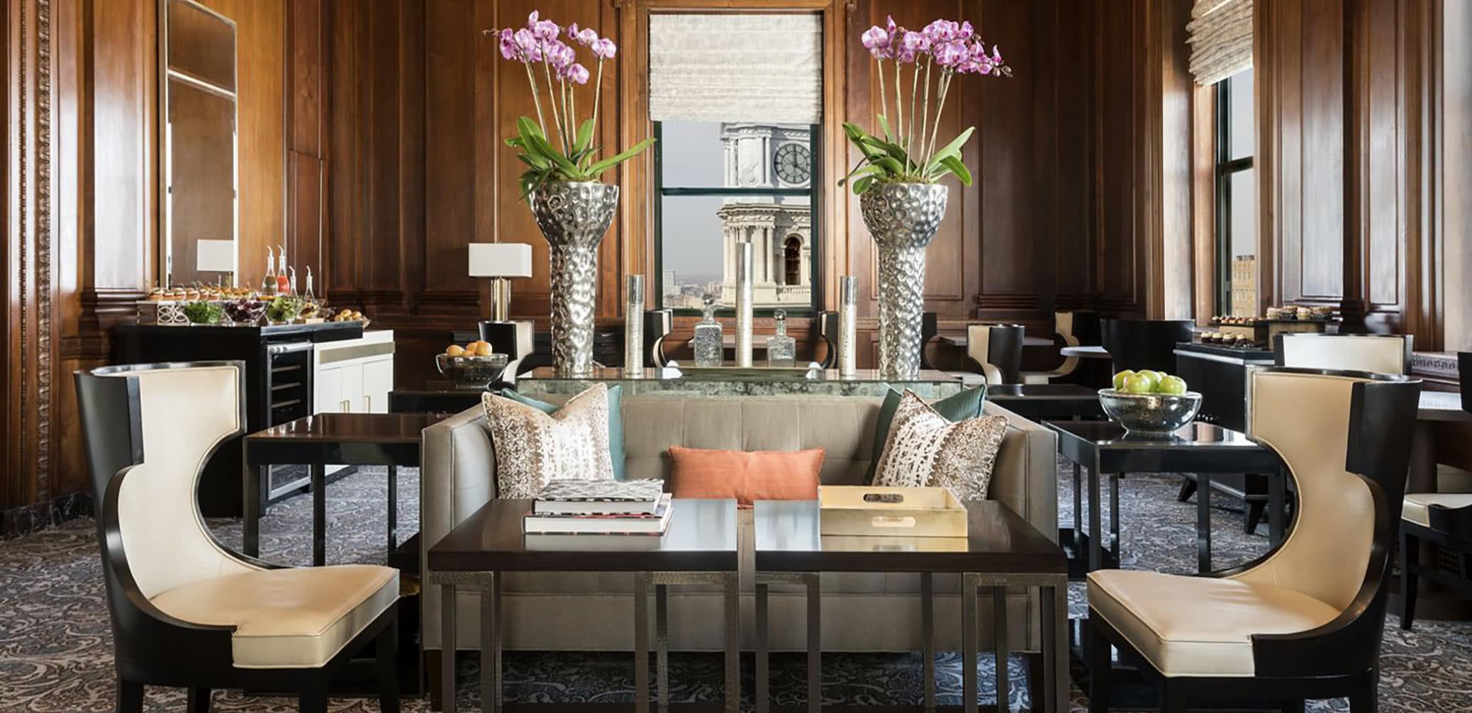 Best Hotel Executive Club Lounges In Philadelphia, Pennsylvania