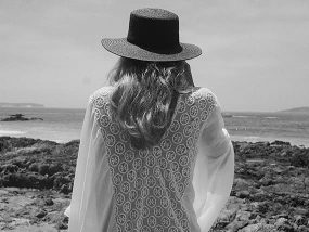 Stylish My Milliner Ombre Charcoal Hat
