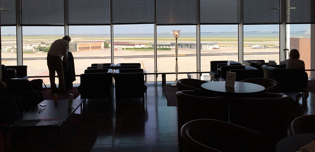Best Airline Lounge At Venice Airport