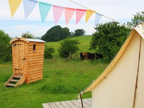 3 Nights Glamping For 4 People In Denbighshire, North Wales