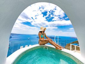 3 nights at Greece's Leading Boutique Hotel in Santorini